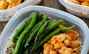 Meal Prep Baked Lime Chicken Bowls – Yummy Healthy Easy – Recipes Easy Healthy Meals