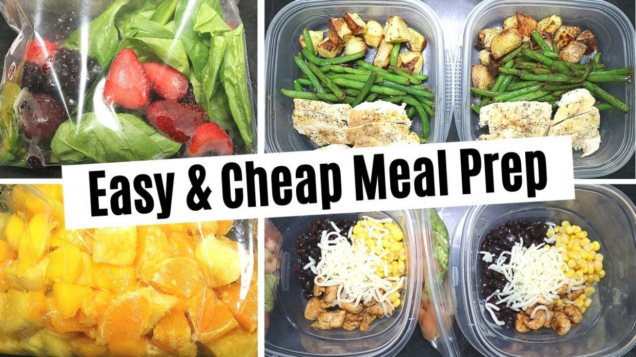 MEAL PREP // EASY & CHEAP MEAL PREP // BUDGET FRIENDLY // ?TACO BOWLS  ?CHICKEN RECIPES ?SMOOTHIES - chicken recipes cheap