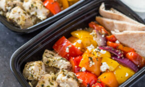 Meal Prep Greek Chicken And Veggies With Tzatziki – Greek Recipes Chicken