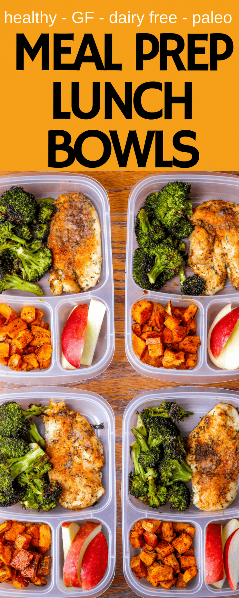 Meal Prep Lunch Bowls with Spicy Chicken, Roasted Lemon ..
