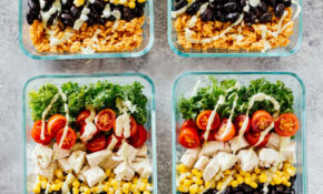Meal Prep Southwest Chicken Burrito Bowls – Meal Prep Recipes Chicken Breast