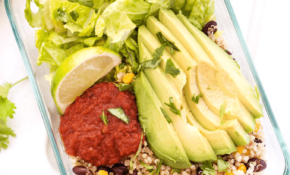 Meal Prep Vegetarian Quinoa Burrito Bowls – Simply Quinoa – Recipes Vegetarian Meal Prep