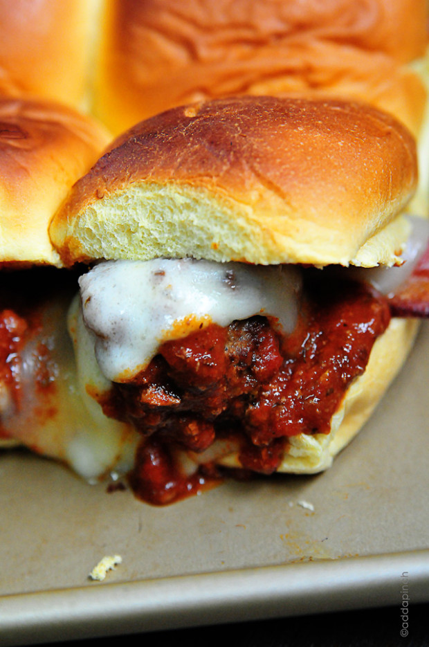 Meatball Sliders Recipe - Cooking | Add a Pinch | Robyn Stone - recipes you can make with cream of chicken soup