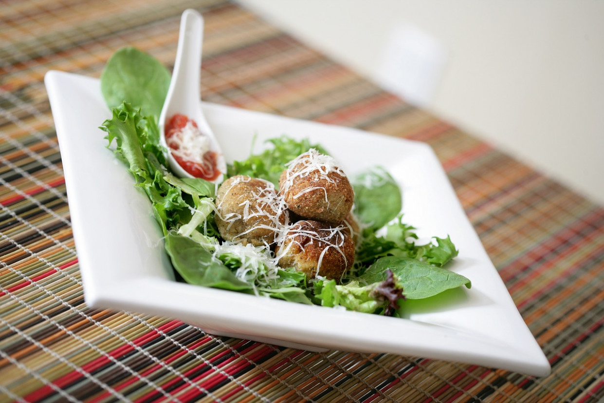 Meatballs, White, Plate, Meat, Food - recipes minced meat healthy