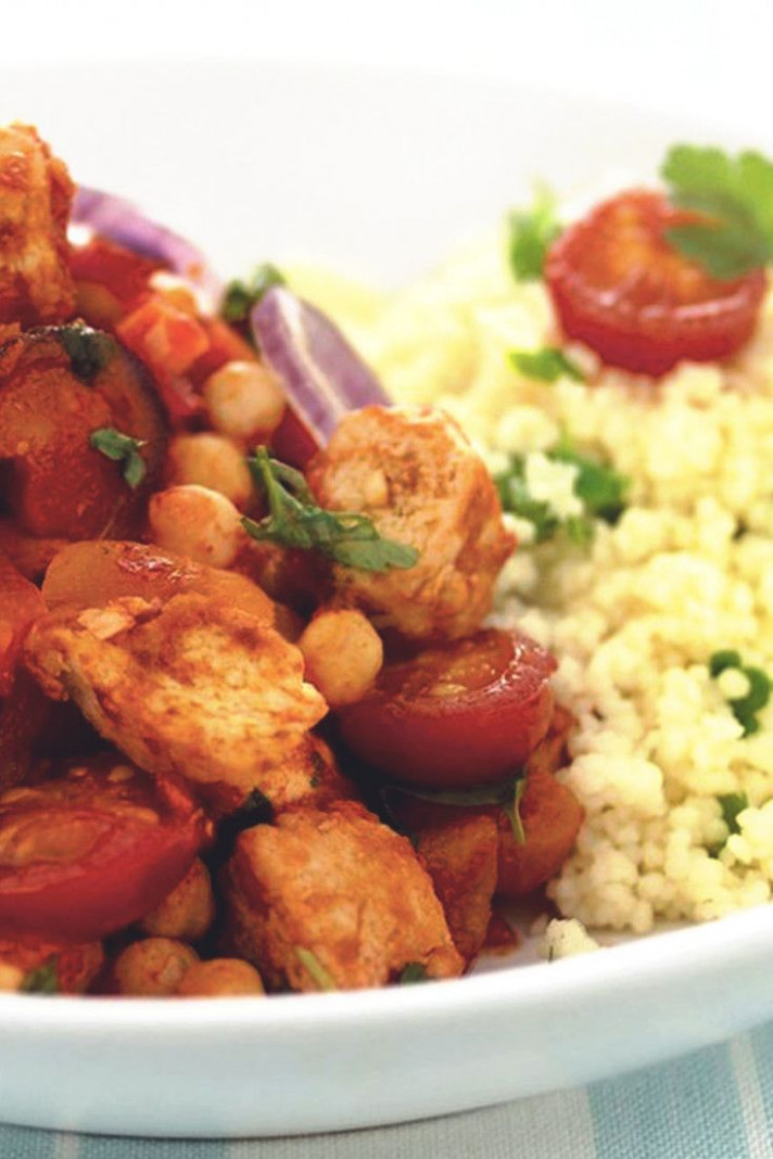 Meatless Chicken Tagine - quorn recipes chicken