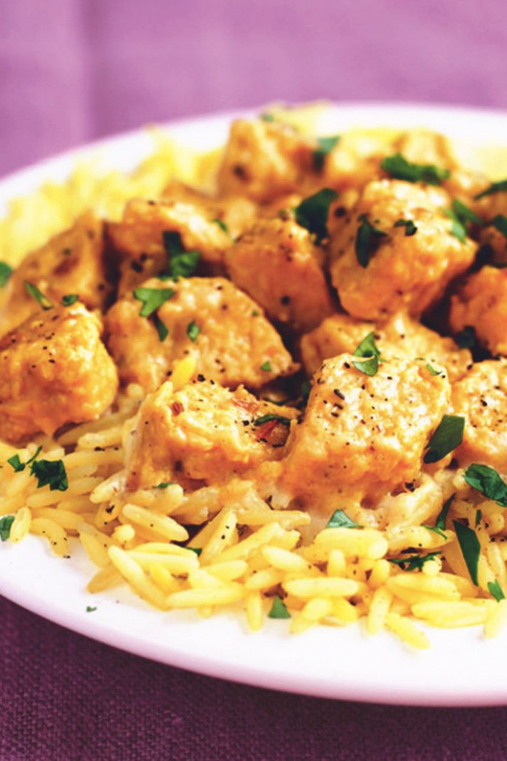 Meatless Korma - Quorn Recipes Chicken Pieces