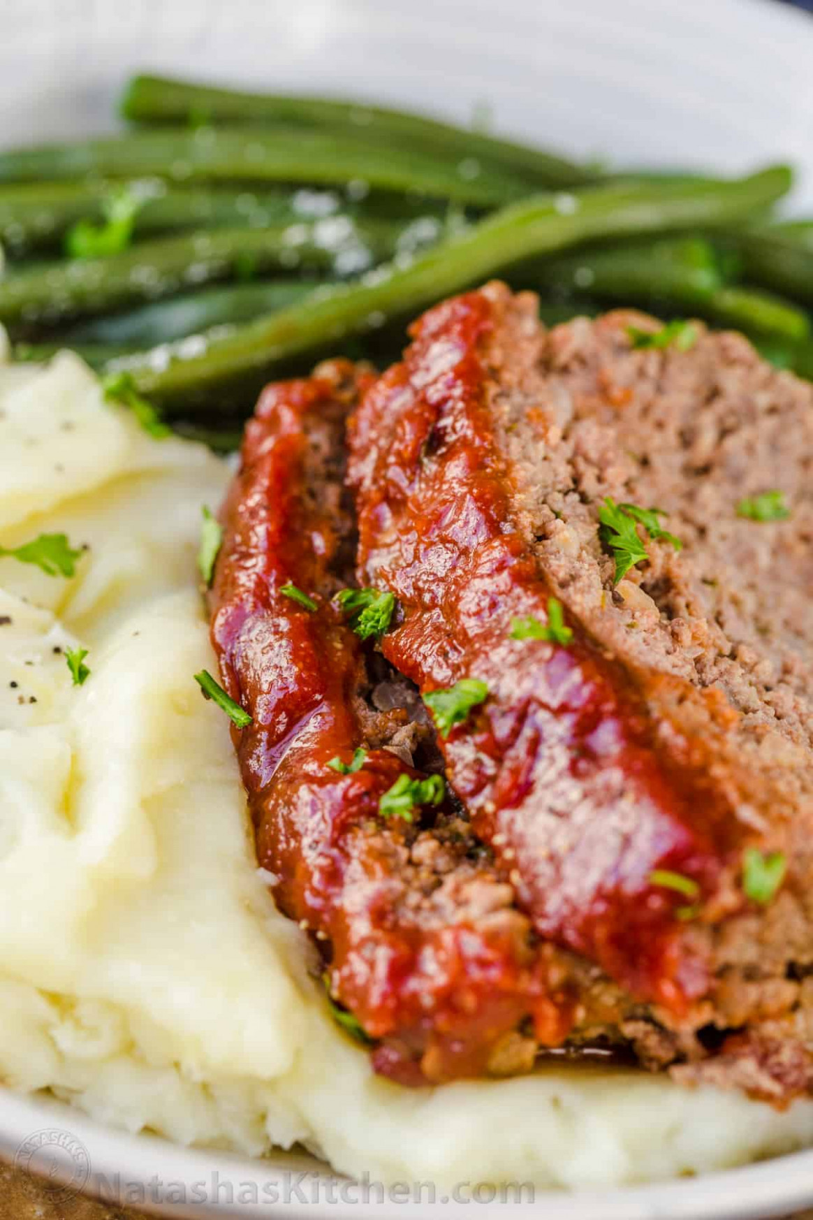Meatloaf Recipe with the Best Glaze - food recipes meat