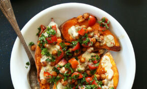 Mediterranean Baked Sweet Potatoes – Recipes Vegetarian Favorite