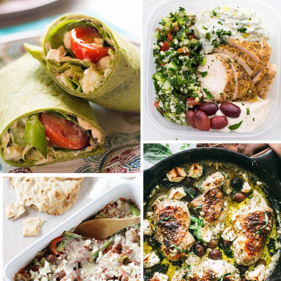 Mediterranean Diet Chicken Recipes for Lunch and Dinner | Shape - meal prep recipes dinner