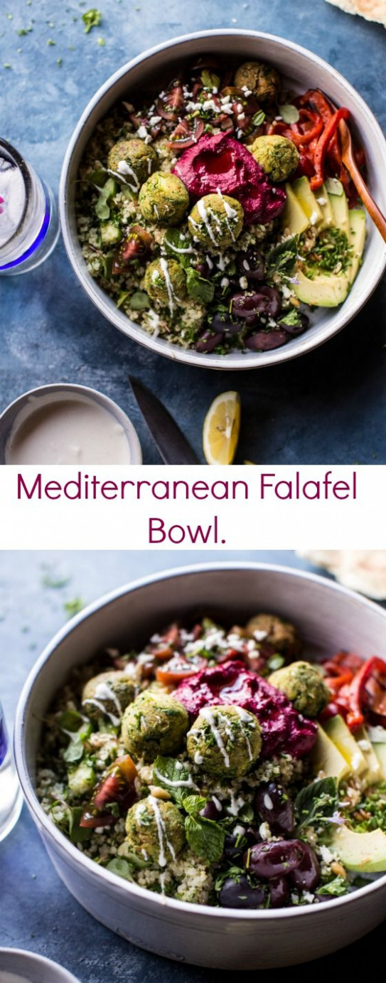 Mediterranean Falafel Bowl | Recipe | Healthy Recipes ..