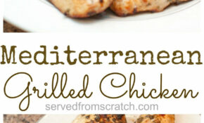 Mediterranean Grilled Chicken Breasts – Chicken Recipes Breast