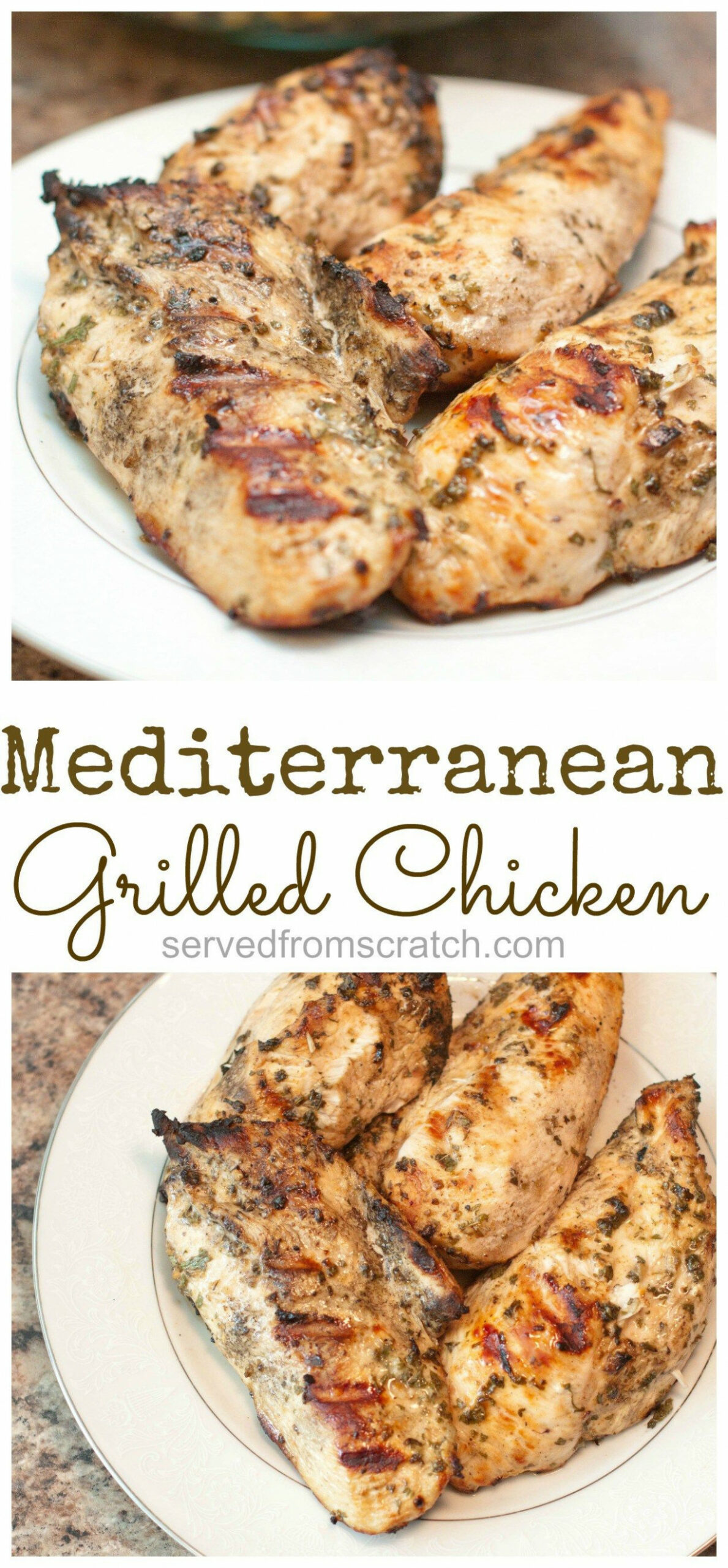Mediterranean Grilled Chicken Breasts - chicken recipes breast