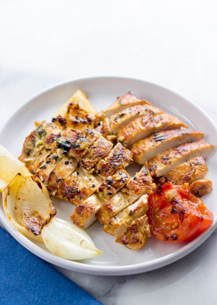 Mediterranean Grilled Chicken Breasts - grill recipes chicken