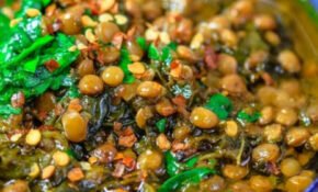 Mediterranean Spicy Spinach And Lentil Soup | Recipe ..