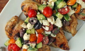 Mediterranean Topped Grilled Chicken | Recipe | Food ..