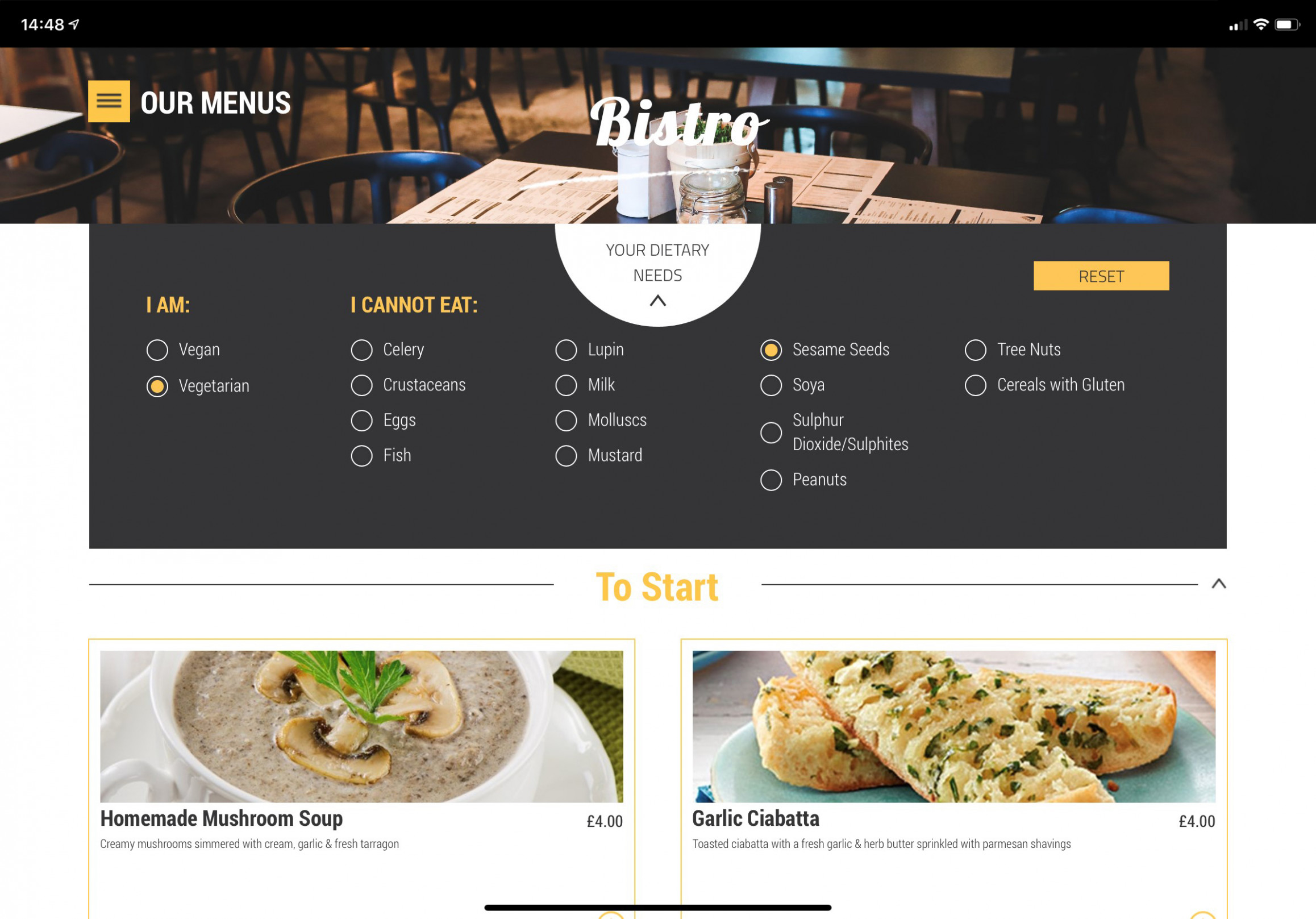 Menu Engineering and Publishing - Fourth - food recipes sites