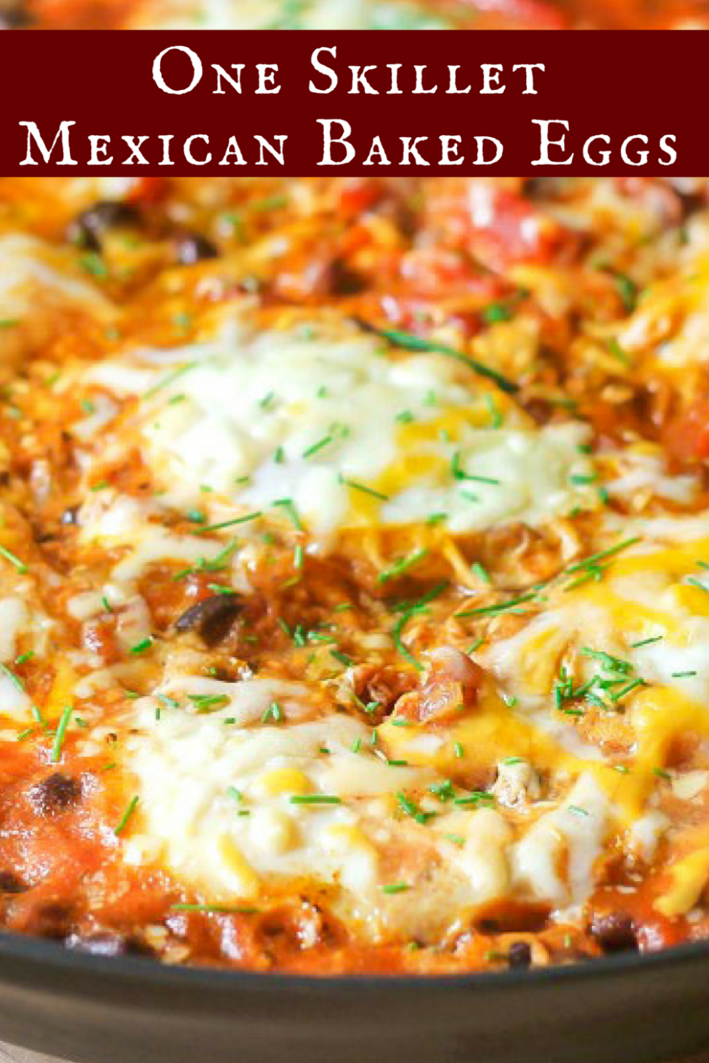 Mexican Baked Eggs (One Skillet) - Food Recipes For Breakfast