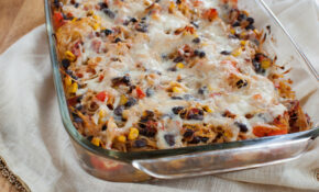 Mexican Baked Spaghetti Squash – Healthy Yellow Squash Casserole Recipes