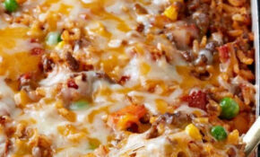 Mexican Beef And Rice Casserole – Here's A Tasty—and ..