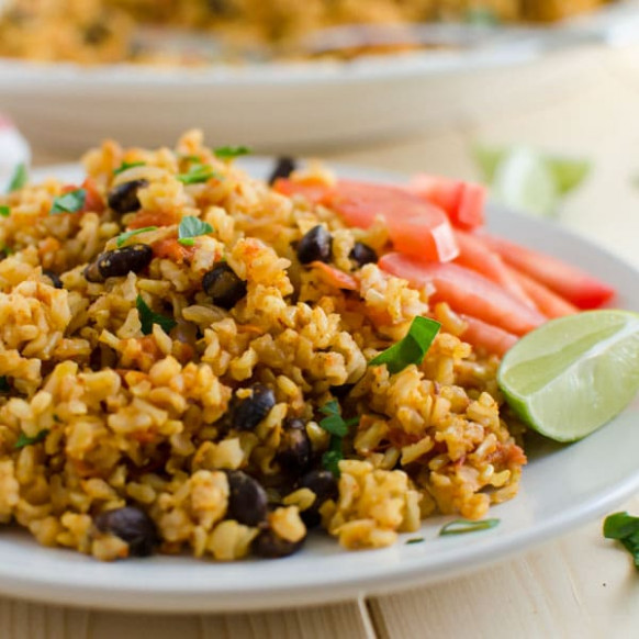 Mexican Brown Rice Recipe - A One Pot Healthy Meal - recipes brown rice healthy