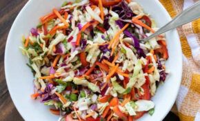 Mexican Coleslaw With Cilantro Lime Dressing – Recipes With Cabbage Vegetarian