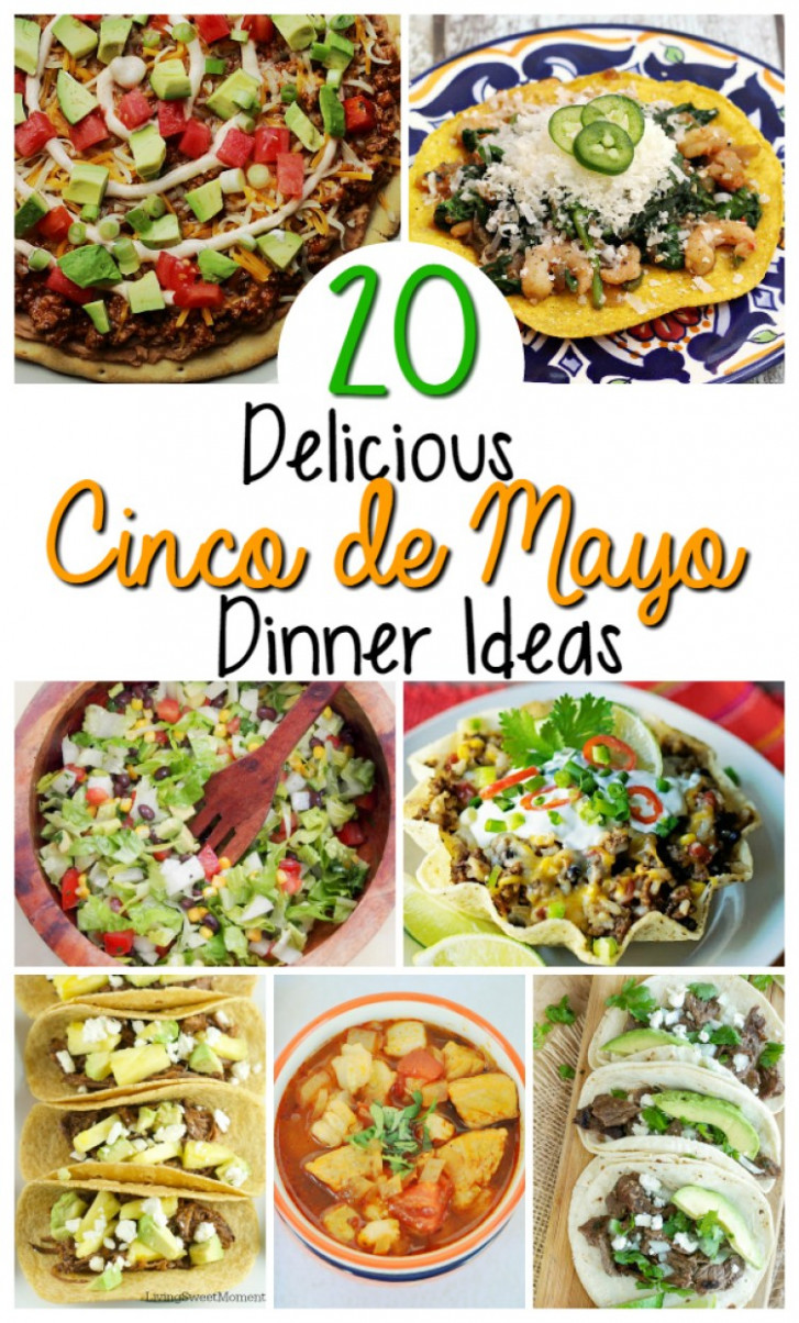 Mexican Food Recipes For Cinco de Mayo - Oh My Creative - mexican dinner recipes