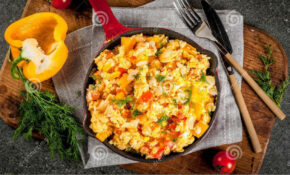 Mexican Food Recipes Revoltillo De Huevos, Scrambled Eggs A ..