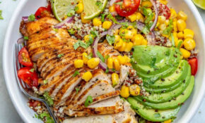 Mexican Grilled Chicken Bowl – Mexican Recipes Chicken