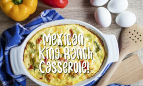 Mexican King Ranch Chicken Casserole Recipe | Delishably – Recipes King Ranch Chicken