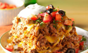 Mexican Lasagna Recipe | Taste Of Home – Recipes Of Mexican Food