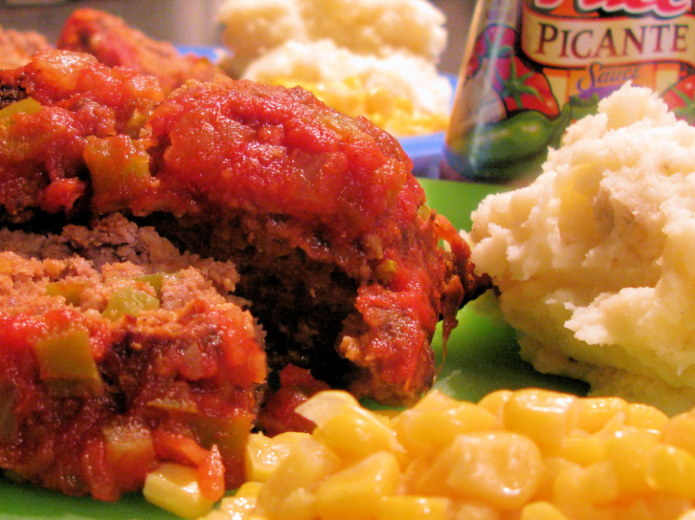 Mexican Meatloaf - food recipes mexican