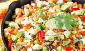 Mexican Quinoa Skillet Dinner | Cooking On The Front Burner – Quinoa Dinner Recipes