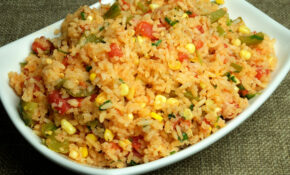 Mexican Rice – Manjula's Kitchen – Indian Vegetarian Recipes – Recipes Mexican Vegetarian