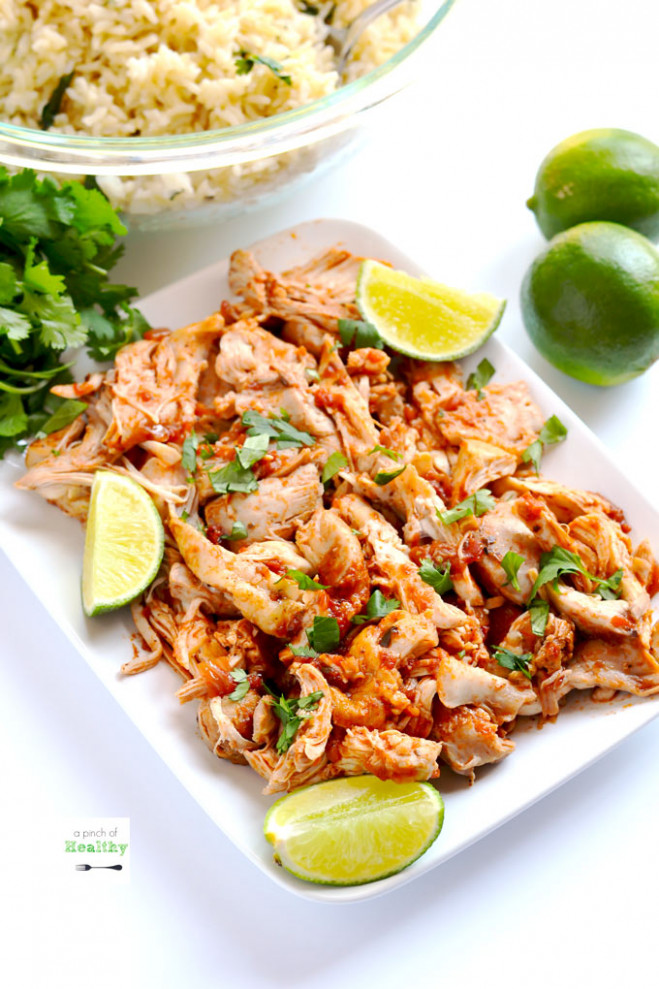 Mexican Shredded Chicken (Instant Pot, Slow Cooker Or ..