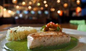 Mexican Snapper With Green Sauce