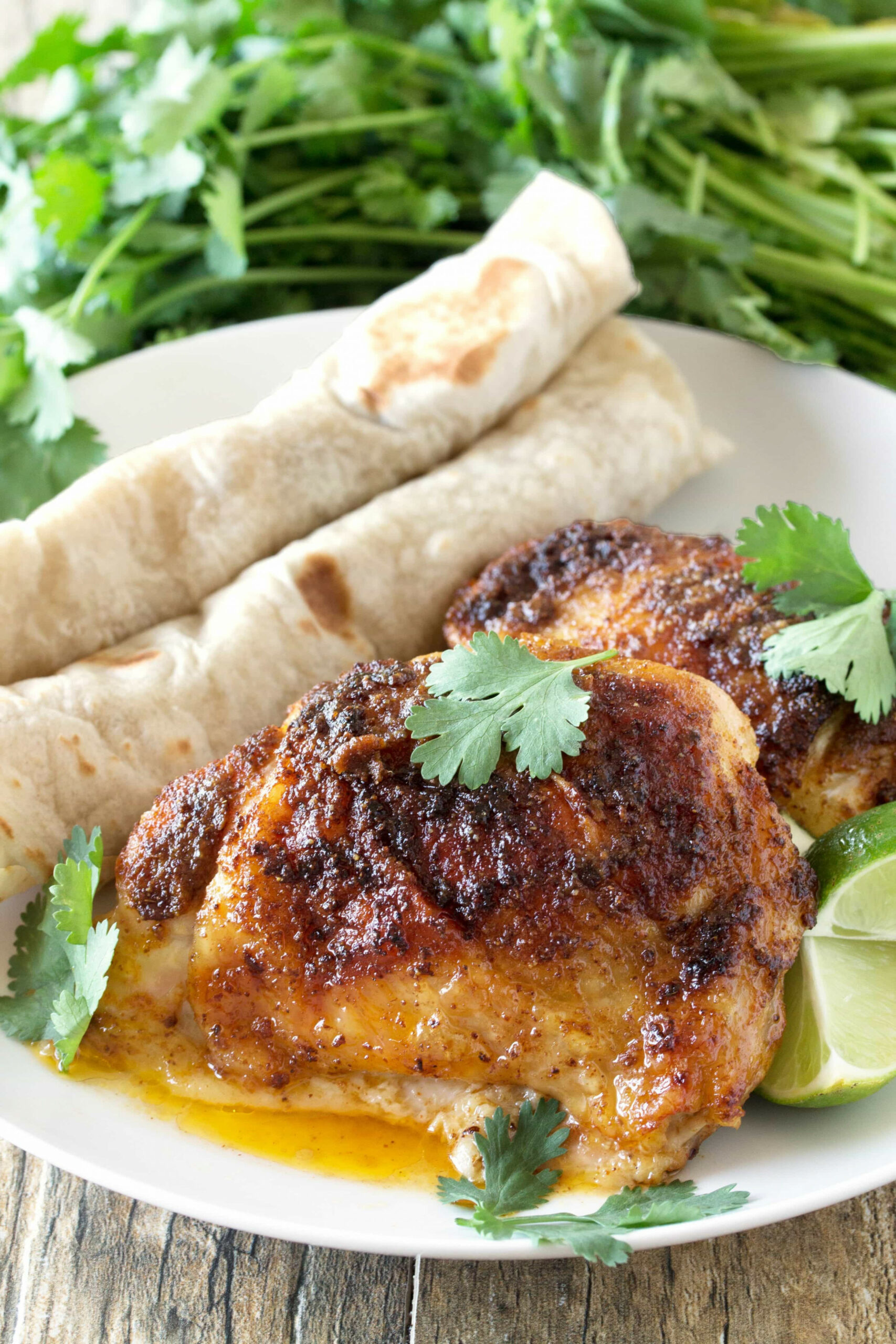 Mexican-Spiced Chicken Thighs - recipes baked chicken legs