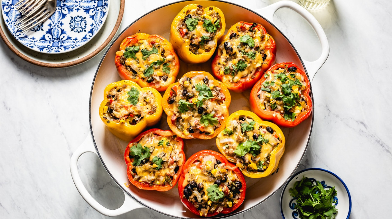 Mexican Stuffed Peppers Recipe - recipes mexican vegetarian