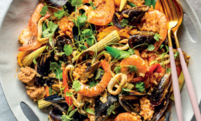 Mexican Style Chorizo And Seafood Paella Recipe – Risotto Recipes Vegetarian