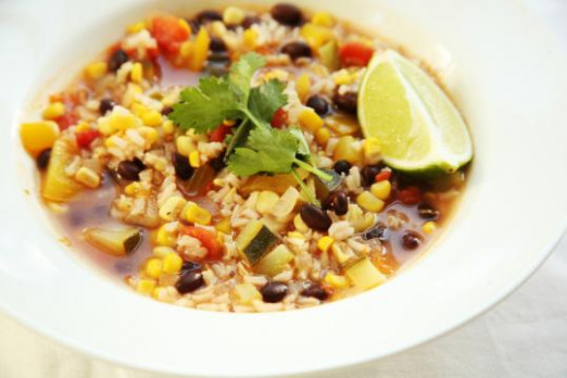 Mexican Style Vegetable Soup Recipe - The Boston Globe - Vegetarian Recipes Zucchini Tomatoes