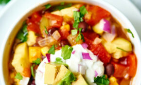 Mexican Vegetable Soup – Vegetable Soup Recipes Vegetarian