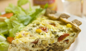 Mexican Vegetarian Quiche – Recipes Mexican Vegetarian