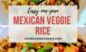 Mexican Veggie Rice – Mexican Food Recipes Easy