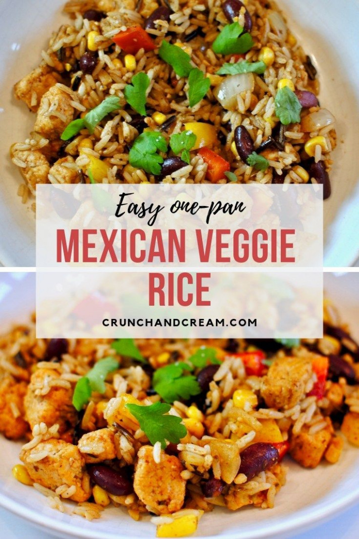 Mexican Veggie Rice - rice recipes dinner