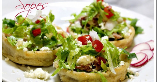 Mexico in My Kitchen: How to Make Sopes Recipe / Cómo ..