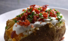 Microwave 10 Minute Loaded Potato | Recipe In 2019 ..