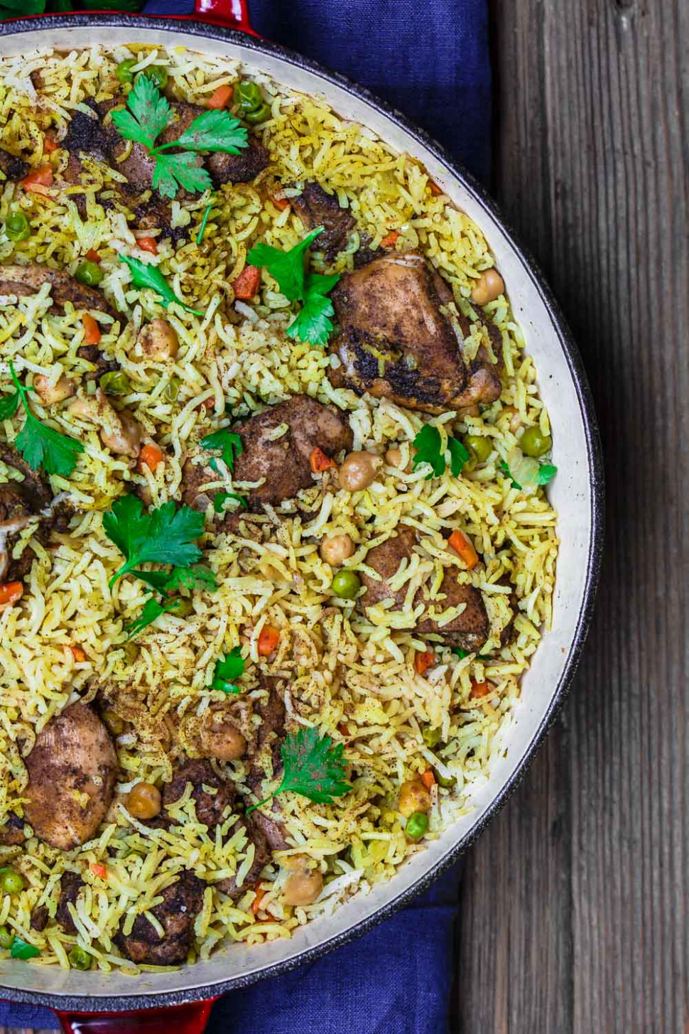 Middle Eastern Chicken And Rice - Tasty Recipes Chicken
