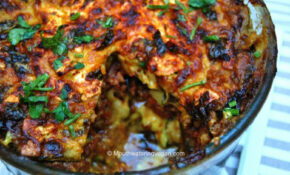 Middle Eastern Style Veggie Bake [Vegan] – Recipes Middle Eastern Food