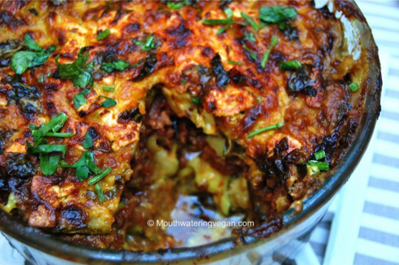 Middle Eastern-Style Veggie Bake [Vegan] - recipes middle eastern food