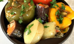 Middle Eastern Vegetarian Dolma – My Gorgeous Recipes – Middle Eastern Recipes Vegetarian