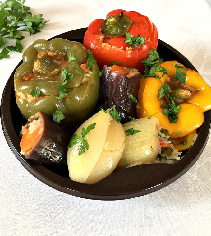 Middle Eastern Vegetarian Dolma - My Gorgeous Recipes - middle eastern recipes vegetarian